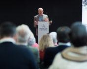 Eugenio Fuentes en la I Feria de la Cultura y el Territorio Montijo