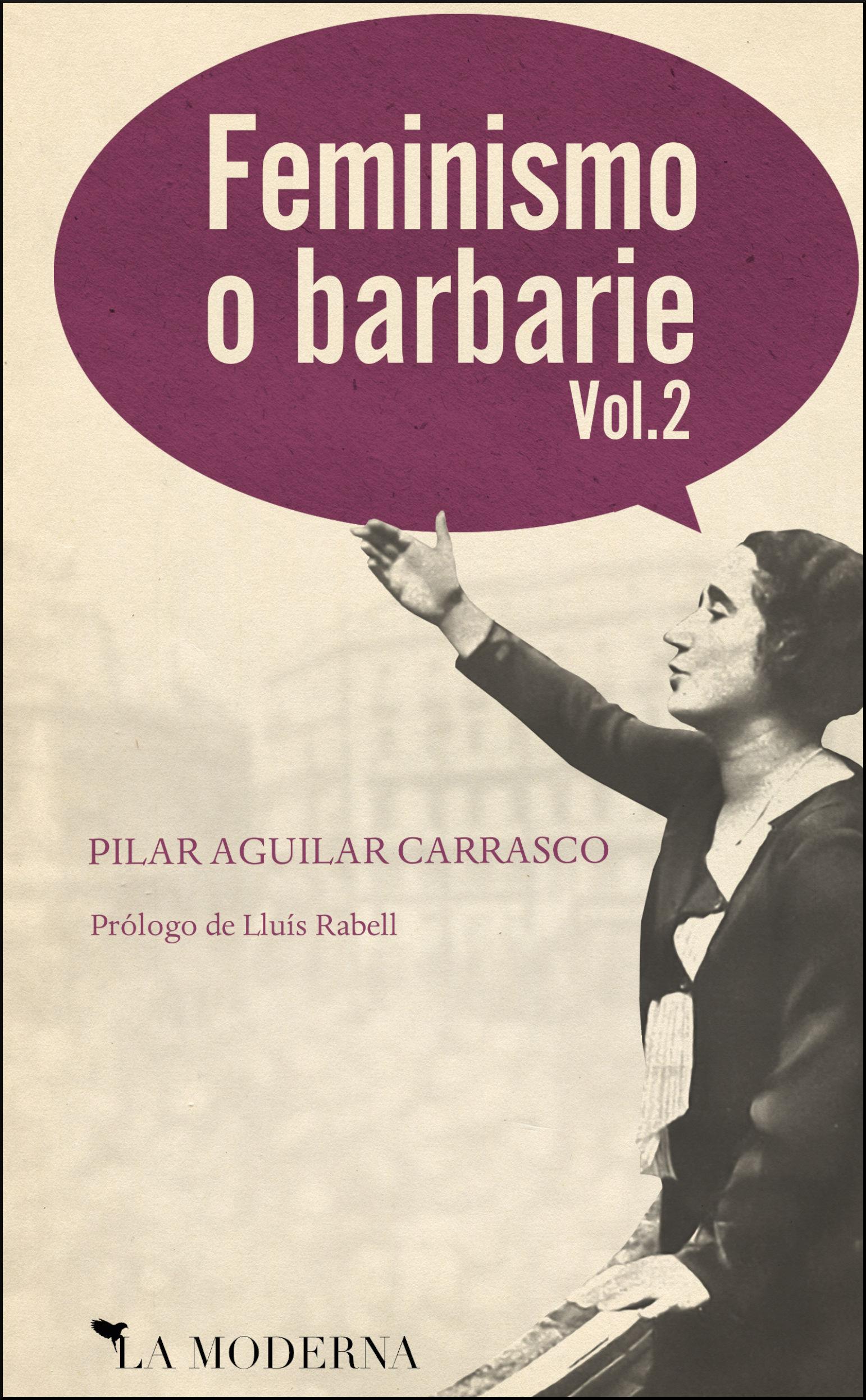 14x21 Feminismo o barbarie 2 - Portada - Pilar Aguilar