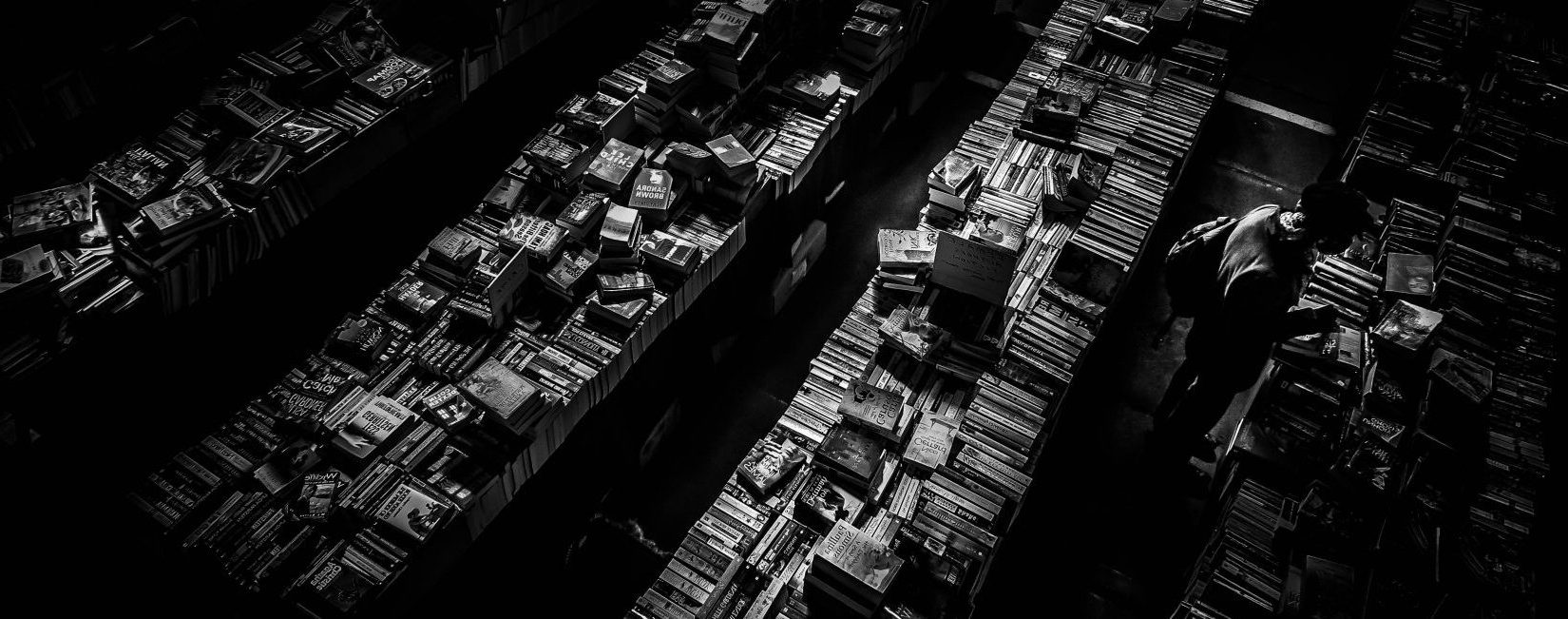 Book Store Mike Wilson Black and White